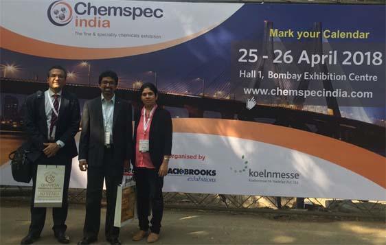 Advinus at Chemspec, Mumbai