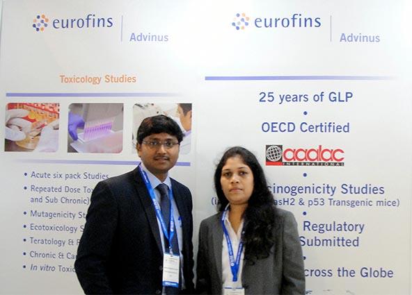 Eurofins Advinus at AgrochemEx 2017, Shanghai