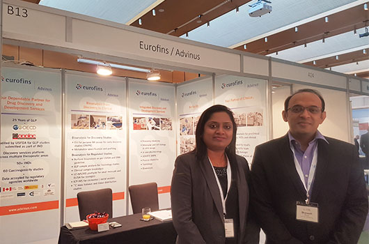 Eurofins Advinus Exhibited at EBF, Spain