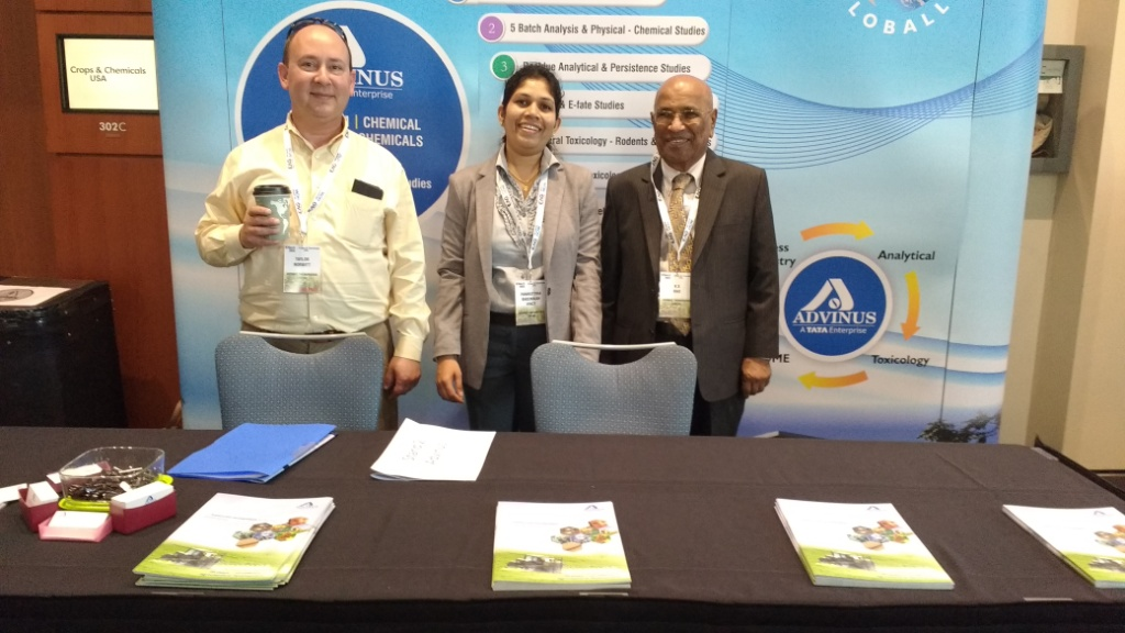 Advinus Exhibited at the IFT 2016 conference, Chicago