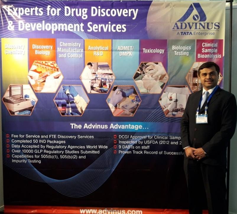 Advinus Exhibited at the RBF 8th International Symposium 2017, Ahmedabad