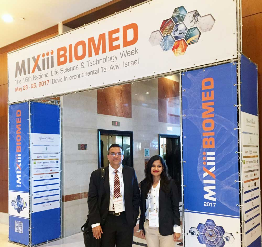 Advinus at MIXiii-BIOMED Conference