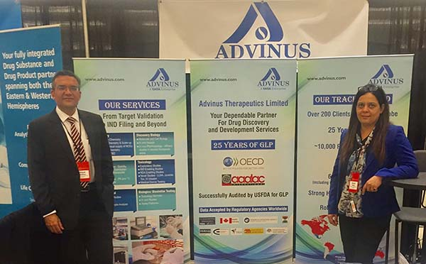 Advinus at Outsourced Pharma